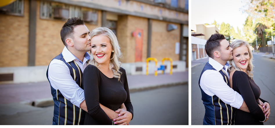 Second Shooter At Engagement Shoots In Bloemfontein