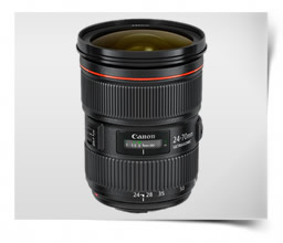 Canon EF 24-70mm f/2.8 L II USM Lens For Wedding Photography